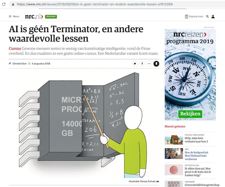 Artikel in NRC