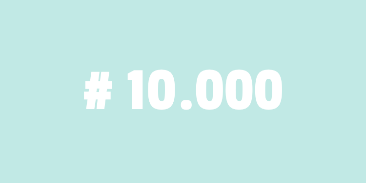 Cursist nr 10.000 !