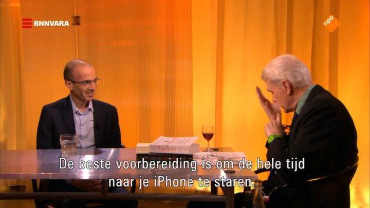 Jeroen van den Hoven (TU Delft) over Harari
