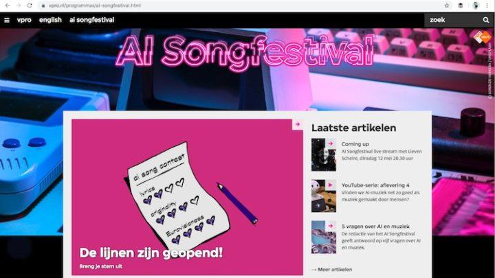 Kan AI een liedje componeren?